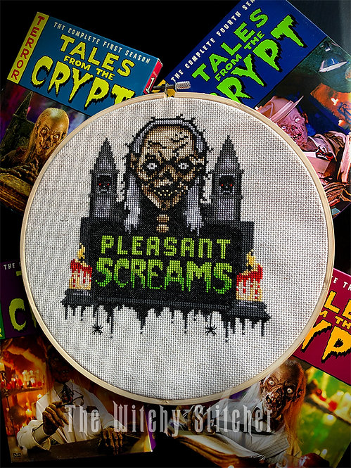 Pleasant Screams ~ The Cryptkeeper ~ PDF Pattern