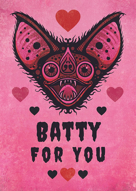 Batty For You Valentine Set