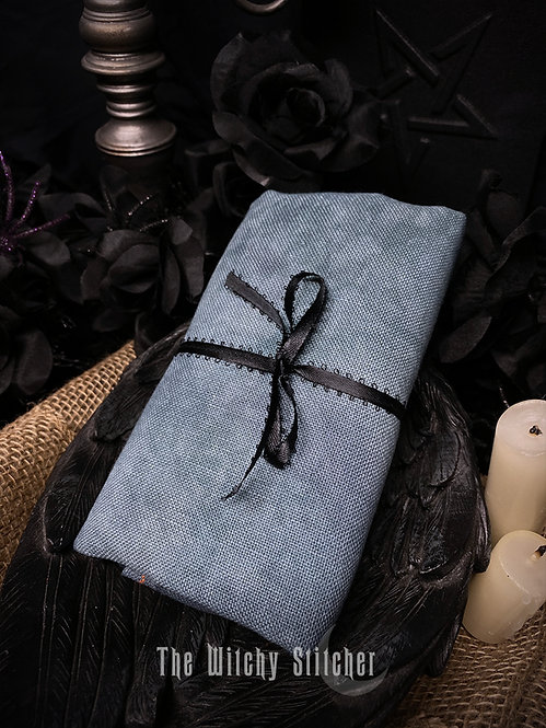 Haunted 28 ct Cashel Linen - Hand Dyed Fabric