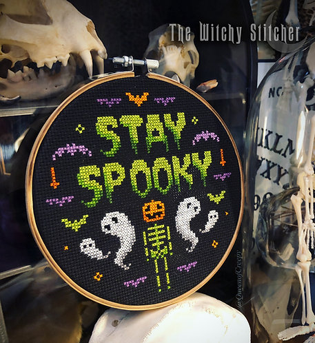 Stay Spooky ~ PDF Pattern