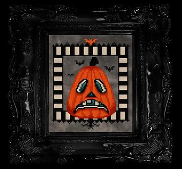 Sad Beistle Pumpkin - free halloween cro