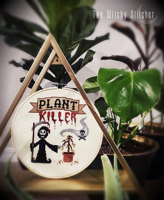 Plant Killer ~ Grim Reaper ~ PDF Pattern