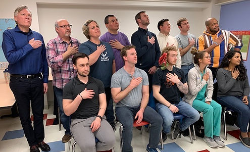 Baltimore Improv Group (BIG) level 401 improv class