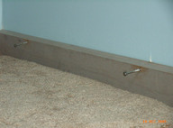 Removable skirting board