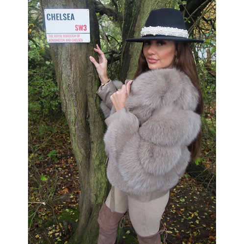 """""""CHELSEA"""" Fox Fur Coat"""
