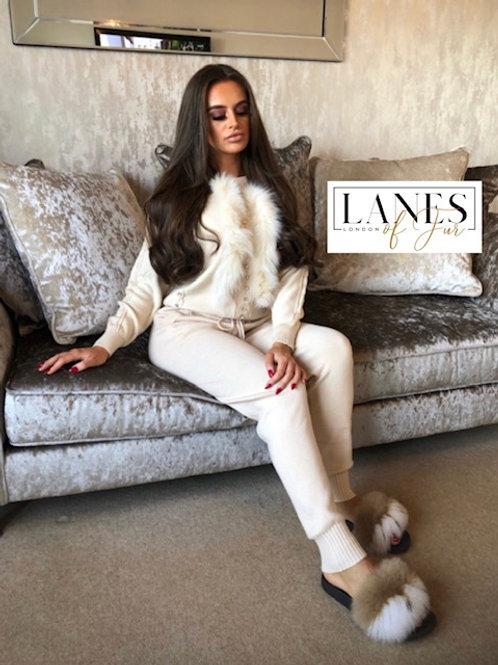 """OXFORD STREET"" Fur Loungewear"