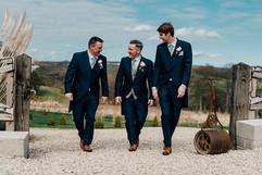 Here come the boys... #groom #groomsman