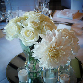 Another of our gorgeous centre pieces fr