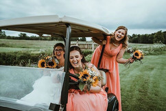 All the golf cart craziness with Jen &