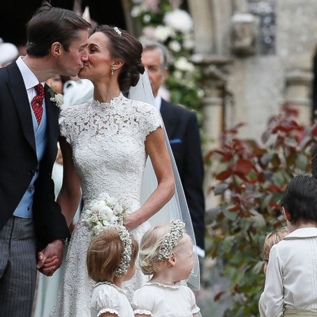 Why we love Pippa Middleton's wonderful spring wedding flowers