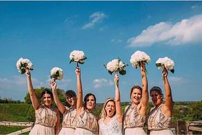 Lauren's wedding just looked so fun! Tho