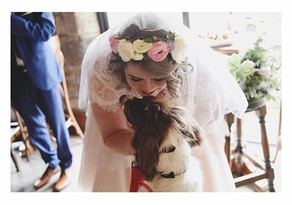 How about this gorgeous bride's flower c