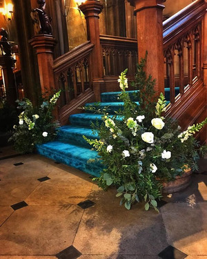 Fairytale staircase for Samantha to walk