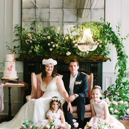 A Styled Vow Renewal Shoot - As Featured on Brides up North