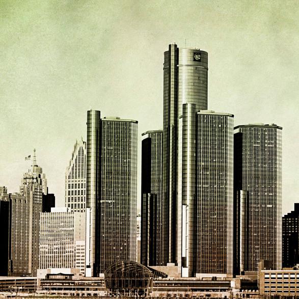 Detroit Watercolor