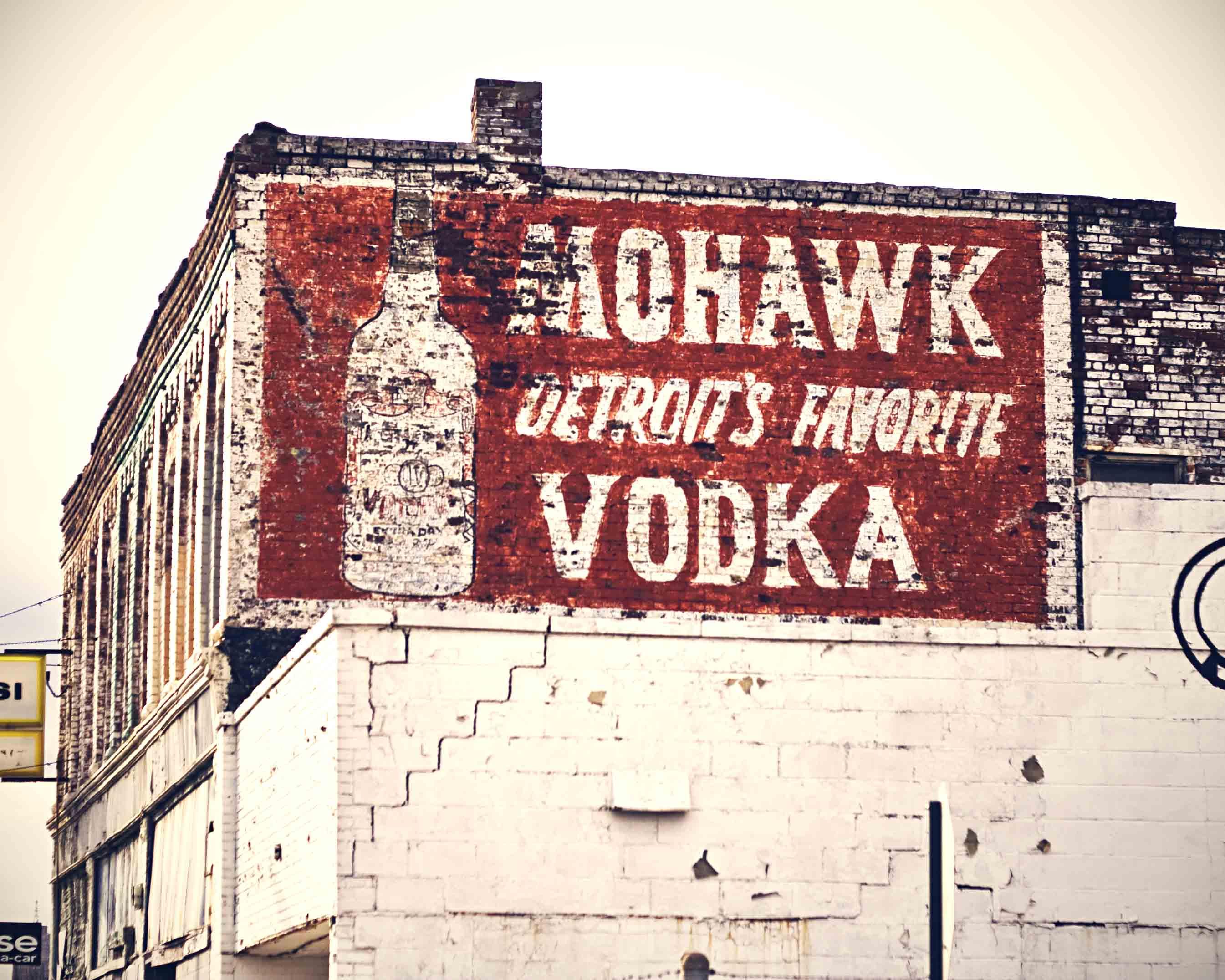 Mohawk - Detroit's Favorite Vodka