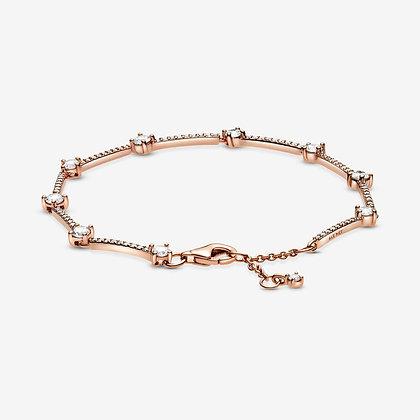 Bracelet Barres Pavé Scintillant 589217C01-16