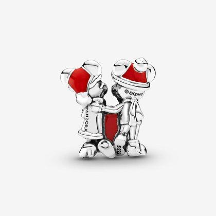 Pandora Charm Disney Cadeau de Mickey et Minnie 799194C01