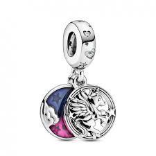 Pandora Charm Pendant Double Licorne Magique 799145C01