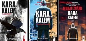 Karakalem books authored by N. Ipek Gokdel, with Netflix buying rights