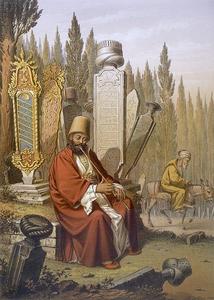 """Illustration from """"Souveniers de Constantinopole"""" c. 1855"""