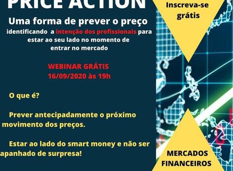Price Action  - Webinar grátis