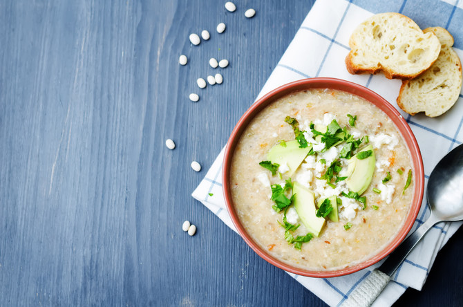 Great melting cheese in soups