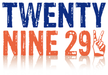 twenty nine 29 ロゴ