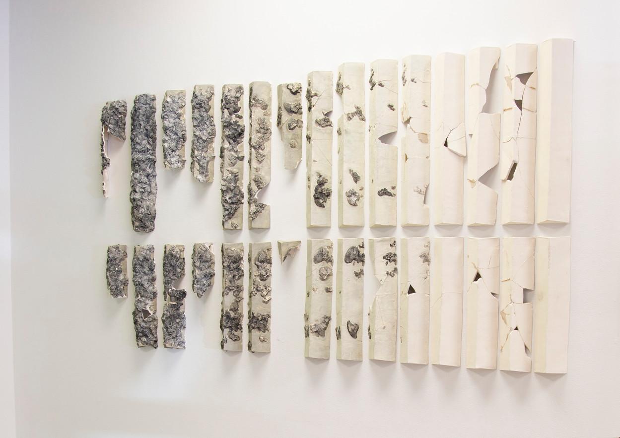 Chaos and Control (post break), 2018, ceramic