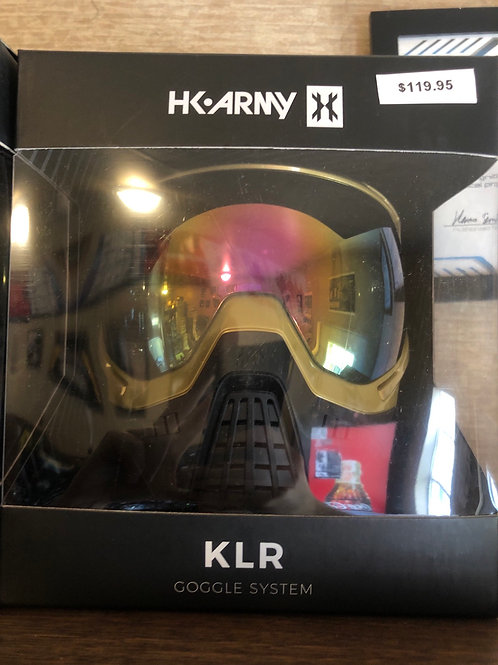 Hk Army KLR mask gold