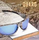 Virtue V Guard sunglasses ( camo, blue lenses)