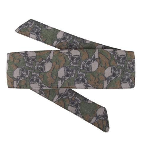 HK hostilewear headband ( forest)