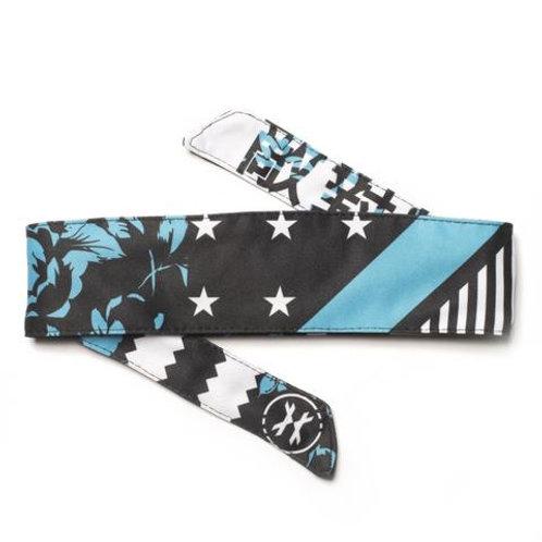 HK headband (reign turquoise)
