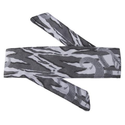HK headband hostilewear snakes (gray)