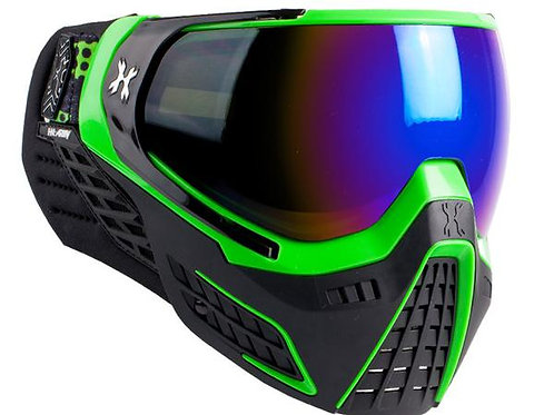 HK KLR Mask slime (green/black) cobalt lens