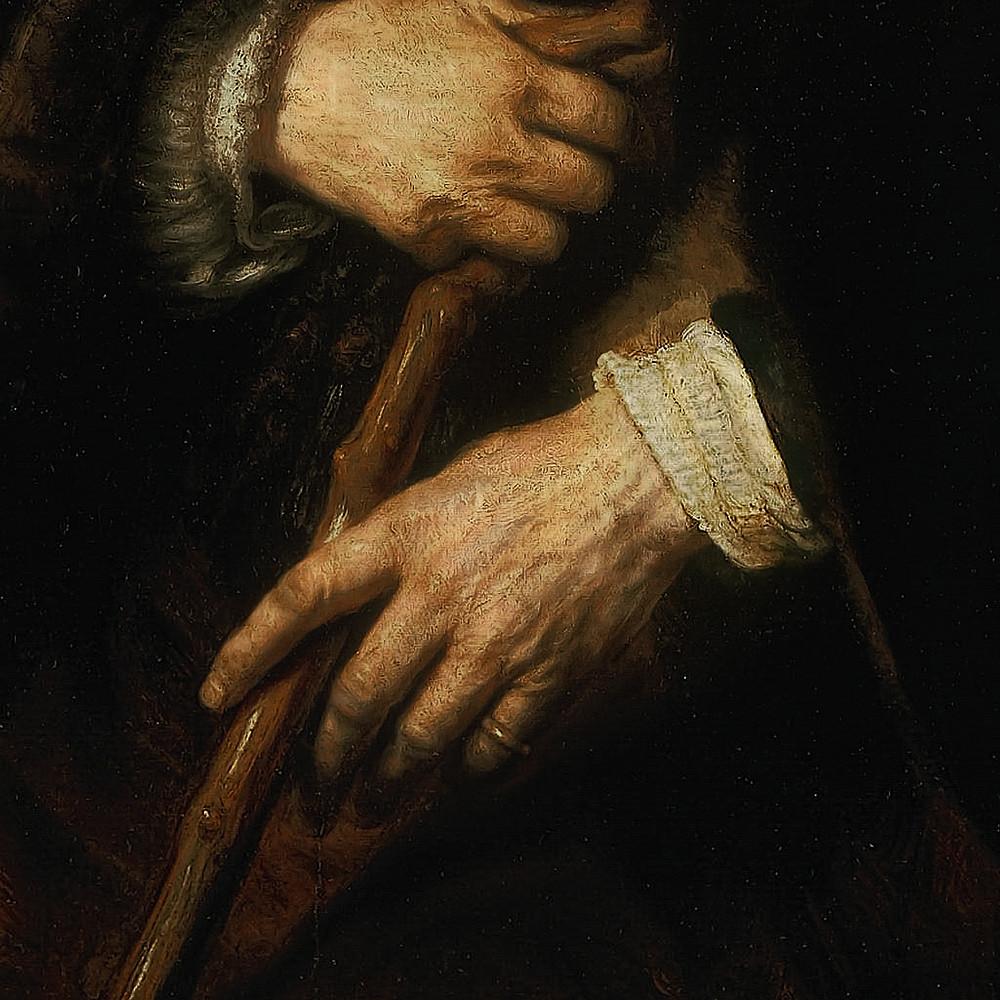 Rembrandt Portrait of an Old Man, 1645 (5)