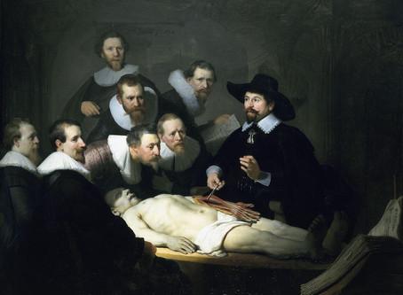 A lição de anatomia do Dr. Nicolaes Tulp