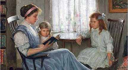 """Leitura em Voz Alta"" por Sonya Shafer"
