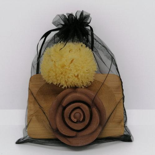 Geranium and Patchouli Rose Gift Set