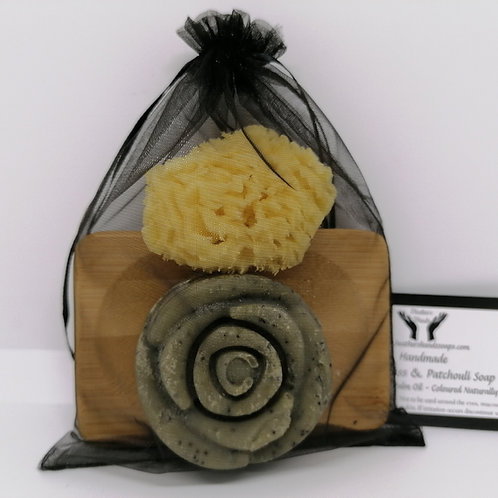 Lemongrass and Patchouli Rose Gift Set