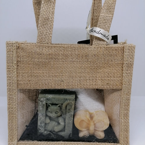 Lemongrass and Patchouli Cat Gift Set