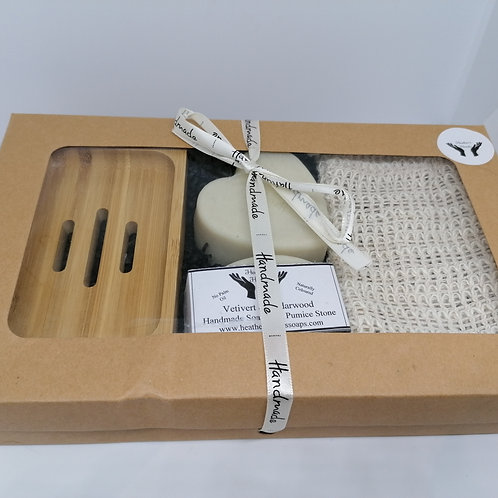 Vetivert and Cedarwood Gift Box