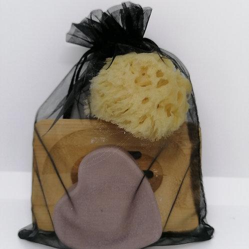 Lavender & Rosemary Heart Gift Set