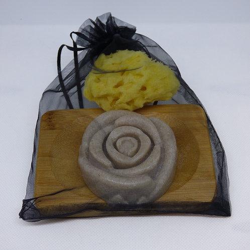 Sweet Marjoram, Cypress & Juniper Rose Gift Set