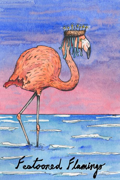 Festooned Flamingo