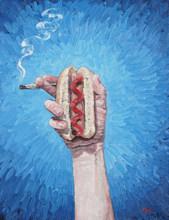 Hot Dog and a Smoke