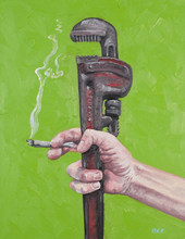 An Old Wrench, A quick Smoke