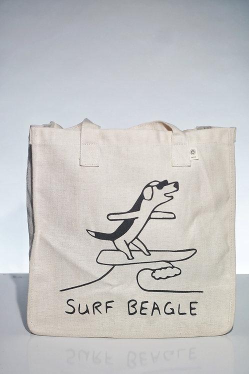 Surf Beagle Tote