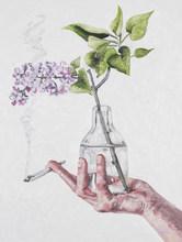 Lilac and a Smoke