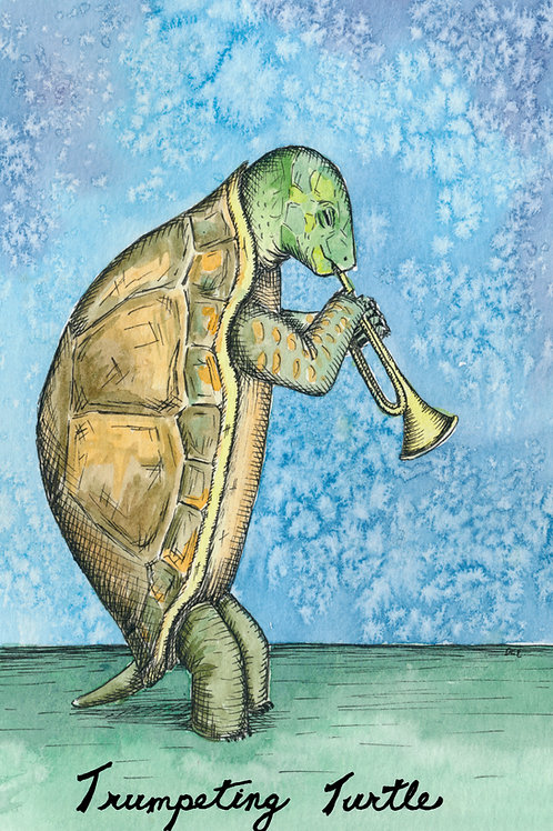 Trumpeting Turtle